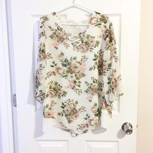 Faith and joy blouse size large